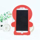 Caso suave de alta calidad de caucho de silicona para el iPhone (SY243)