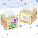 2ply Good Qualiity Virgin Pulp White Box Papier de tissu facial,