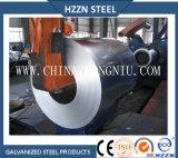 Lo zinco normale del lustrino Z180 ha ricoperto la bobina d'acciaio