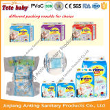Heiße Verkaufs-billig weich gedruckte Baby-Wegwerfwindeln
