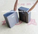 Tipo de escovas de carvão de metal CM3H para Peças Eequipment de Rotação do Motor