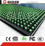 Indicador de diodo emissor de luz elevado por atacado da definição P10 para o único campo verde