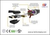 Cl3 bewertetes (In-Wand Installation) HDMI Kabel mit 15 Fuß