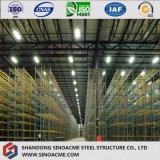 Costruzione prefabbricata chiara della struttura d'acciaio della fabbrica con la certificazione di qualità