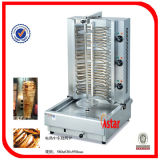 Electric Doner Kebab de frango Equipamento Shawarma Rotisserie para venda