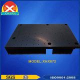 Schwarzer oxidierender Aluminiumkühlkörper für Stromversorgung