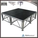 El mejor venta All-Terrain Plataforma etapa portátil de aluminio exterior