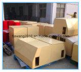 Puder-überzogener gelber Behälter-Stahl Enclosurer