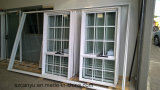 El diseño de la ventana del PVC colgó el estilo para la ventana de la casa
