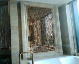 بناية زخرفة مادة ليزر قطعة ألومنيوم شامة جدار فنية لوح مع [هيغقوليتي]