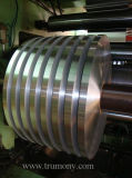 Cinta Finished del aluminio del molino/de aluminio/correa/tira estrechas para el radiador auto, transformador