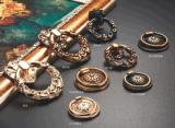 Tiro d'ottone della maniglia del Governo di tiro della maniglia di nuovo stile 2016 (6054)