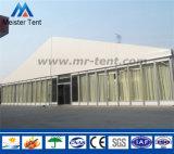 Tienda clara de aluminio al aire libre gigante de la exposición del palmo