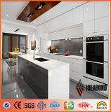 Ideabond Nano Polyester / PE Decoração de cozinha Painel composto de alumínio (AE-32D)