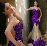 Платье вечера Abendkleider черное отбортовало платья E1789 выпускного вечера Mermaid