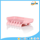 Agua deslizamiento titular de baño de silicona Soap Box almacenamiento Limpieza en seco Esponja