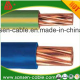 Certificação CE BT 450/750V Cabo XLPE flexível de núcleo único H07V-R cabo de cobre