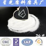 Sabbia fusa bianca abrasiva dell'allumina di uso del rivestimento di ceramica