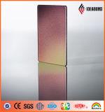 Panneau composé en aluminium de spectres nanos de pointe avec l'enduit de PE de PVDF
