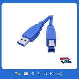3.3FT USB3.0 Am ao micro cabo de dados do USB de B