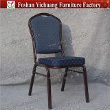 Cadeira moderna do frame de aço do restaurante do banquete do hotel Yc-Zg16-06