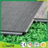 De colle plancher en bois de verrouillage de planche de vinyle de PVC vers le bas avec UV