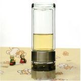 Fuguang 260ml 281-260の贅沢なクリスタルグラス水茶マスターのInfuserのびん