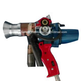 Capa que pinta (con vaporizador) termal del alambre dual del arma del tirón del aerosol del arco para el dispositivo de la alta velocidad