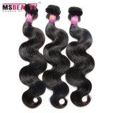 Prolonge brésilienne de cheveux humains de Remy de vente en gros d'usine de la Chine
