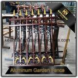 고품질 장식적인 주문을 받아서 만들어진 이용된 단철 알루미늄 정원 담 위원회