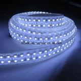Doppio indicatore luminoso di striscia di riga 5050 LED di bianco 600 LED