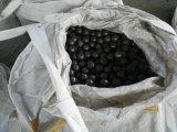 Hohes Chrom-Gussteil legierte reibende Media-Stahlkugel für Kleber