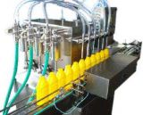 Maquinaria de etiquetado linear automática llena de la máquina de embotellado del agua de 450bph 3-5gallon