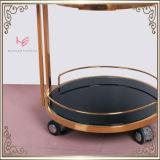 Мебель нержавеющей стали вагонетки тележки ликвора вагонетки (RS150502)