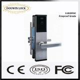RFID 호텔 접근 목제 문 손잡이 자물쇠