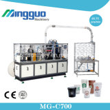 Taza de papel Mg-C700 que forma la máquina en un precio más barato, máquina caliente de la taza de papel del certificado del Ce de la venta