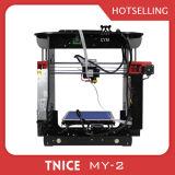 Горячий принтер настольный компьютер DIY 3D Fdm структуры сбывания 150*150*150mm алюминиевый