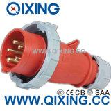Cee 16A 400V 5p는 전원 플러그를 방수 처리한다