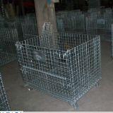 Recipiente do engranzamento de fio do recipiente/metal do engranzamento de fio do armazenamento