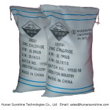 99.5% Fornitore industriale superiore del cloruro dello zinco del grado per la batteria a secco