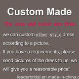 1 PCS Drop Shipping Accepter OEM ODM 3/4 manches en dentelle pourpre Vert Noir en mousseline de soie robe de soirée courte longueur au genou mère du marié robe de mariée (E02)