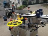 Автоматическая машина для прикрепления этикеток бутылки пестицида верхней части задней части фронта в Шанхай