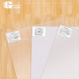 Tarjeta de presentación transparente de PVC Material