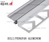 Ajuste cuadrado de aluminio del azulejo para las paredes y los suelos
