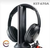 Écouteur sans fil et filaire 5 en 1 Fonction Support FM