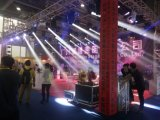 El disco DJ del partido efectúa la mini pista móvil ligera del punto LED del proyector del Gobo de 30W DMX