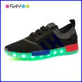 Ботинки светов USB СИД светящие поручая