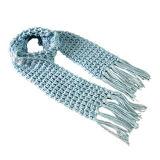 Цельновывязанное изделие в стиле моды шарфом (JRI008)