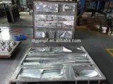 6061 7075 stampaggi ad iniezione di plastica lavorati CNC antiruggine durevoli su ordinazione della lega di alluminio per l'aereo del modello di hobby di EPO RC