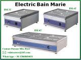 Roestvrij staal het Van uitstekende kwaliteit Elektrische Bain Marie van de fabrikant met Geschatte Bovenkant